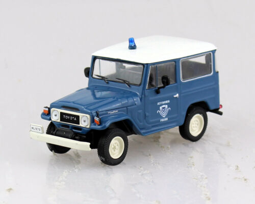 Toyota Land Cruiser FJ40 Polizei Blister 1:43 Altaya Modellauto