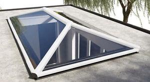 1250mm-x-2000mm-LANTERN-ROOF-GLASS-LANTERN-ALUMINIUM-SKYLIGHT-WHITE