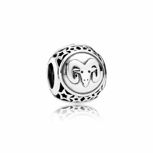 951ba64bf Image is loading NEW-AUTHENTIC-PANDORA-STERLING-SILVER-ZODIAC-ARIES-STAR-
