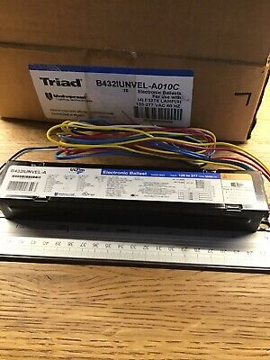 Lot Of 3 4 Triad B432IUNVEL-A Electronic Ballast for F32T8 Free Ship 1H