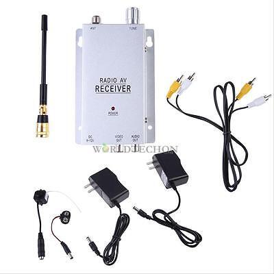 Mini Wireless TV System Nanny Micro Camera Cam Hidden CAMERA with Receiver Kit