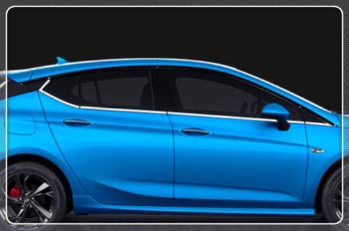 For Opel Astra K 2015 2016 17 Hatchback Stainless Bottom Below Window Sill Trim