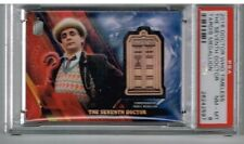 2016 Topps Doctor Who Timeless The Seventh Doctor Tardis Medallion PSA 8 106/150