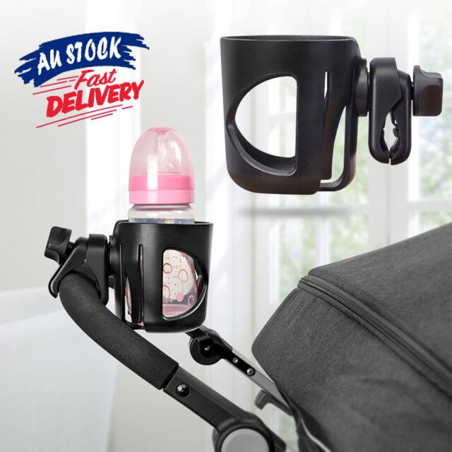 Bottle Drink Water Coffee Universal Stroller Cup Holder Bike Bag Baby Pram