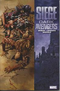 Siege-Dark-Avengers-TPB-2010-Marvel-OOP-SEALED-NM