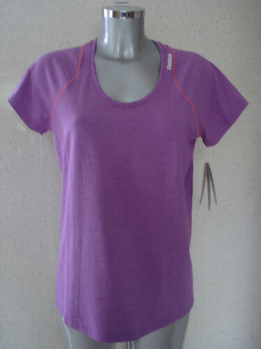Running Top  REAL FLEX PLAY DRY UK Size Large 16-18 NEW REEBOK Fitness