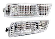 06-09 VW MK5 RABBIT/GTI/JETTA FRONT BUMPER SIDE MARKER LIGHTS - CRYSTAL CLEAR