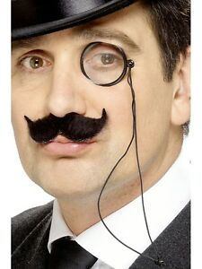 Monocle-Eye-Glass-20s-30s-Victorian-Gentleman-Murder-Mystery-Mens-Fancy-Dress