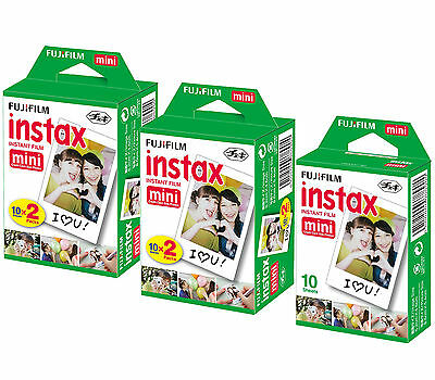 Made in Japan* 50 Fuji Instax Mini 8 Film 50s Mini 90 Mini 25 Mini 7s Fujifilm