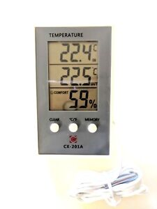 INDOOR-OUTDOOR-DIGITAL-THERMOMETER-amp-HYGROMETER-STORES-MIN-MAX-TEMP-1-MTR-PROBE