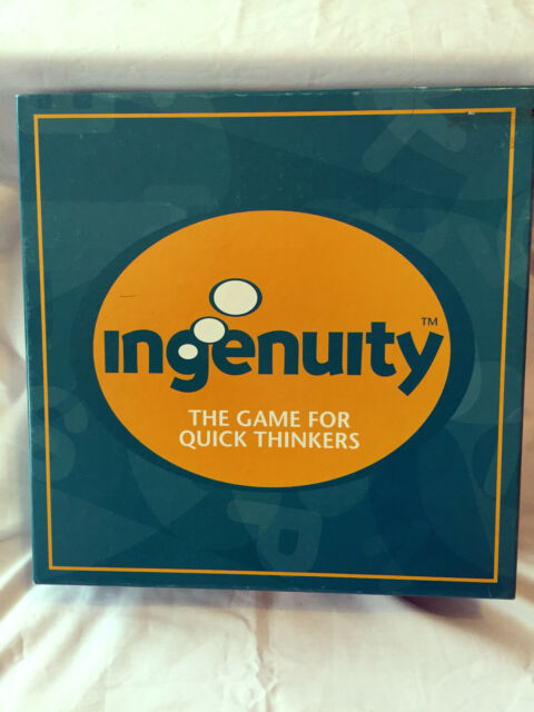 Ingenuity Board Game - 100% Complete - Good Condition