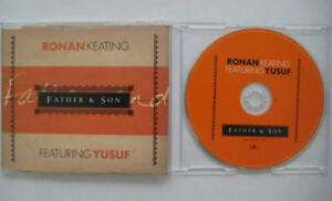 RONAN-KEATING-ft-YUSUF-Father-and-amp-son-1-track-PR0M0-CDS-slimcase-Cat-Stevens