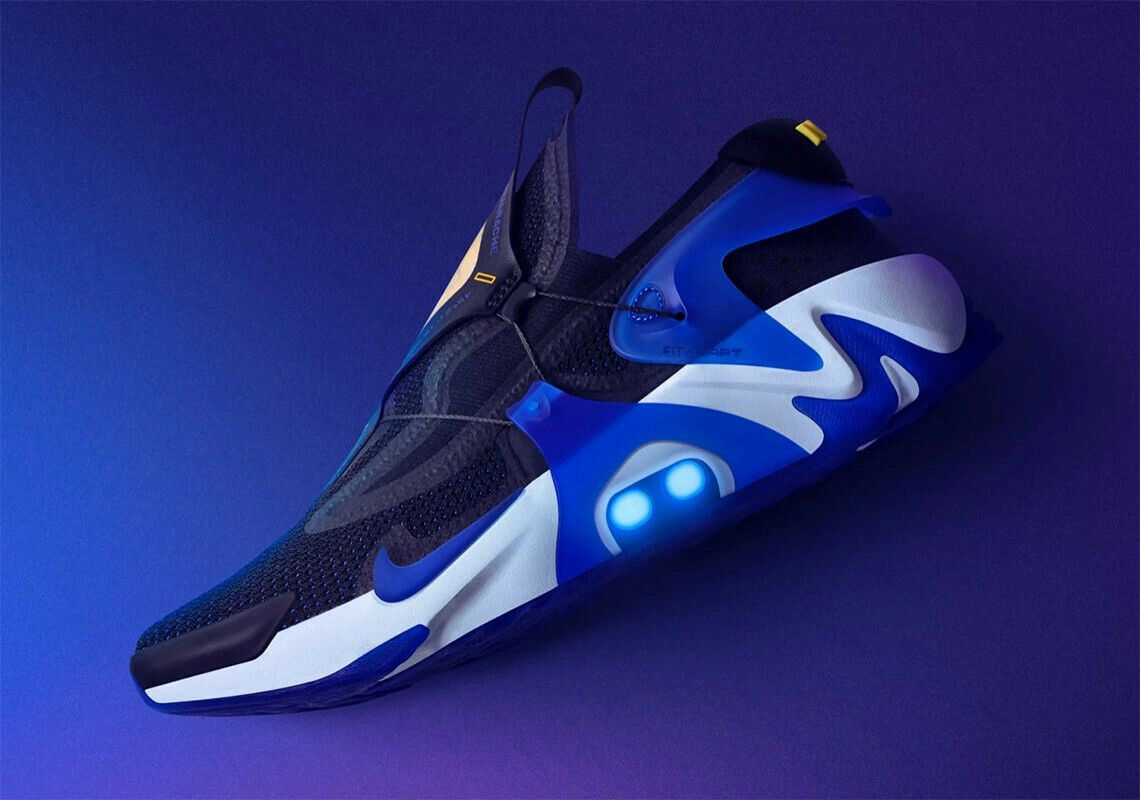 Nike adapt Huarache Racer Blau   EU-Charger   EU 45   US 11   deadstock