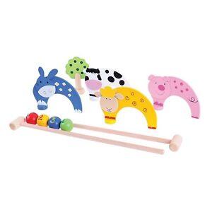 Lernspielzeug Streng Bigjigs Toys Teppichkrocket Mit Bauernhoftieren Neu & Ovp! Spielzeug