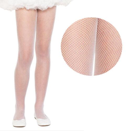 Para Niños Niño Niños Niñas FISHNET Diamante Nylon Color sólido Calzas Traje S-XL