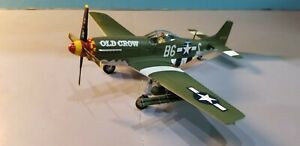 ARMOUR-98006-USAAF-P-51D-MUSTANG-034-OLD-CROW-034-1-48-SCALE-DIECAST-METAL-MODEL