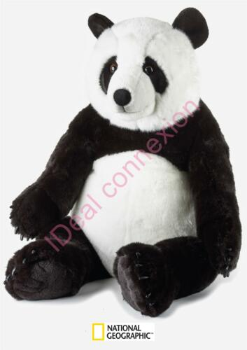 PELUCHE PANDA GEANT NATIONAL GEOGRAPHIC