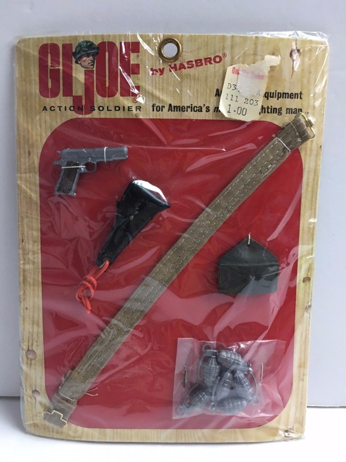 Vintage GI Joe GIJOE AMO CARDED SET BRAND NEW NRFB MIB MIP MOC