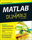 MATLAB For Dummies by Jim Sizemore, John Paul Mueller (Paperback, 2014)