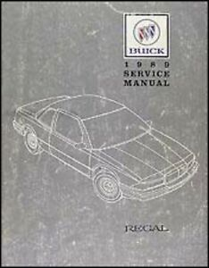 1989 buick regal shop service repair manual book engine drivetrian rh ebay com 2011 buick regal service manual 2003 buick regal repair manual