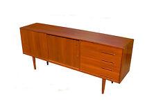 NILS JONSSON Teak SIDEBOARD Credenza Vintage Lowboard 50s 60s Mid Century Design