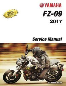 2017 fz 09 maintenance schedule