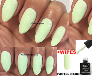 Image Is Loading Bluesky Pastel Neon 5 Pn05 Lime Green