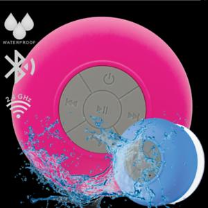 Wireless Waterproof Portable 2.4GHz Bluetooth Mini Shower Stereo Speaker Dock