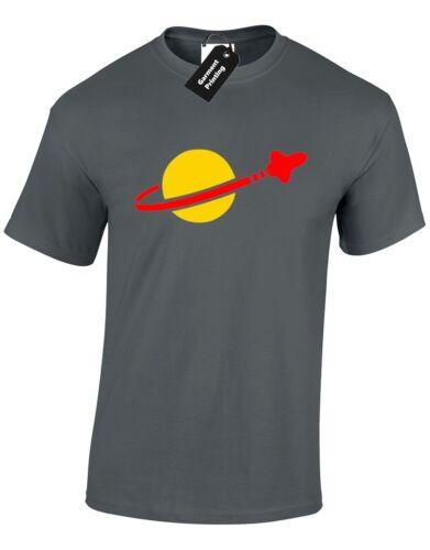 BRICK SPACEMAN SPACE LOGO MENS T SHIRT FUNNY SHELDON COOPER BIG BANG GIFT THEORY