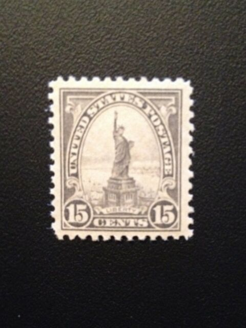 StampGeek SCOTT #566 Statue of Liberty, 1922 Flat Plate Perf 11,  MINT XF NH OG