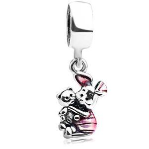 S925-Sterling-Silver-Piglet-Enamel-Charm-Dangle-Bead-Fit-European-Bracelet-Chain