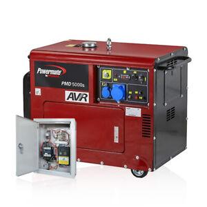 gruppo elettrogeno powermate pmd5000s diesel monofase 4 2