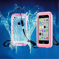 Pink Waterproof lIfe Shockproof Dirt Snow Proof Case Cover for iPhone 6 PLUS 5.5