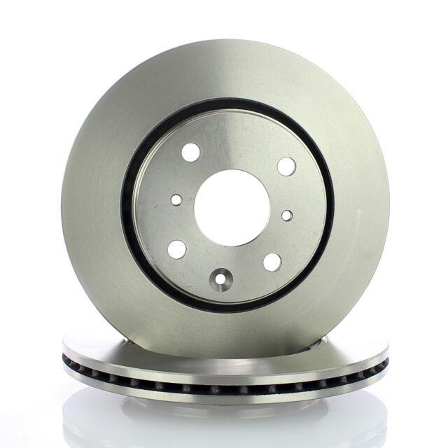 2x ATE Bremsscheiben vorne Belüftet 247mm Für TOYOTA AYGO 24.0120-0180.1