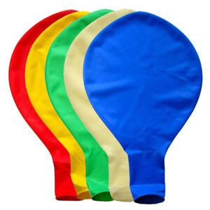 5X-36-in-environ-91-44-cm-90-cm-large-Geant-ovale-Latex-Big-Balloon-Fete-de-Mariage-Decoration