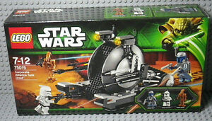 LEGO Star Wars set 75015 Corporate Alliance Tank Drioid - Neuf scelle