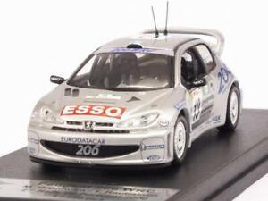 Peugeot 206 Wrc Rally Portugal 2000 Grönholm - Rautiainen au 1/43 de Trofeu Rral67
