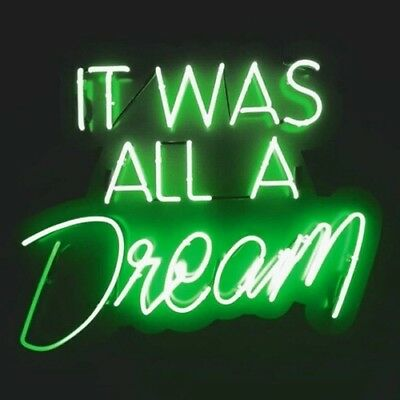New Dream Neon Sign Wall Decor Artwork Light Lamp Display Party Gift