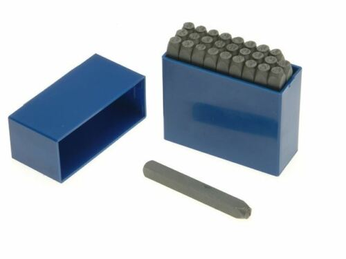 "Priory 181-6mm Set of Letter Metal Stamps Punches 1//4/"" PRI1816"