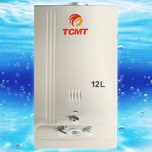 12l natural gas tankless hot water heater 3 2gpm instant for 5 bathroom tankless water heater