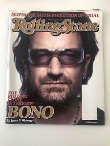 VTG Rolling Stone Magazine November 3 2005 U2 Bono Interview Front Cover