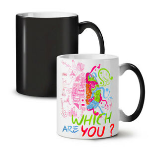 Which Brain Geek NEW Colour Changing Tea Coffee Mug 11 oz | Wellcoda