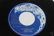 The Tams Tam's Tunes b/w Ive Been Hurt 45 From Publishing Co Vault  Wonder MINT