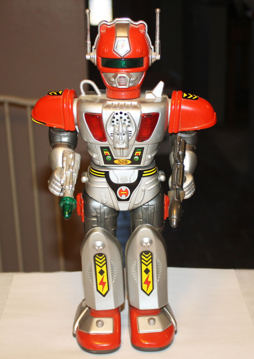 Vintage Battery Powered Toy Robot