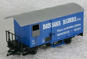 LGB 4029 Gedeckter Güterwagen Boissons Riviera der MOB