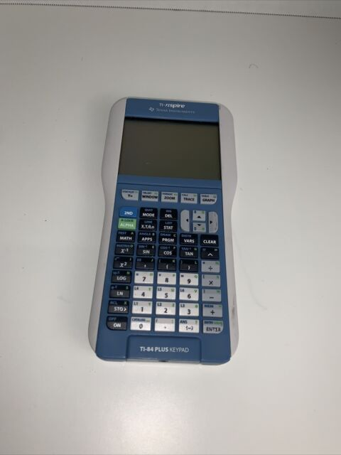TI-84 Graphing Calculator Texas Instruments TI 84 Plus nSpire Keypad Touchpad