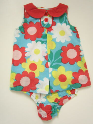 Bébé Mini Boden Filles Robe//Pantalon//Knicker Set Brand New Tournesol.