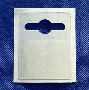 Strong Self Adhesive 42x52mm Euro Hang Tab Euro Slot Hook