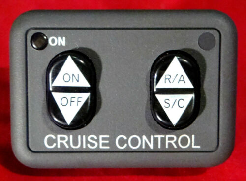 Rostra 250-9601 Cruise Control Kit 2010-2014 Mazda 2 A//T /& M//T w Dash Switch