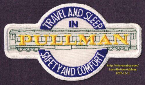 "LMH Patch  PULLMAN HEAVYWEIGHT PASSENGER Car  Travel Sleep Safety Comfort  5.5/"""